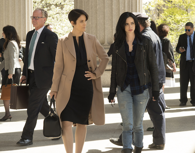 Marvel Debuts First Look At Jessica Jones, Mike Colter's Luke Cage Features
