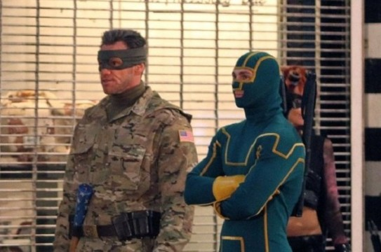 Jim Carrey Looks Awesome In Leaked Kick-Ass 2: Balls To The Wall Set Video