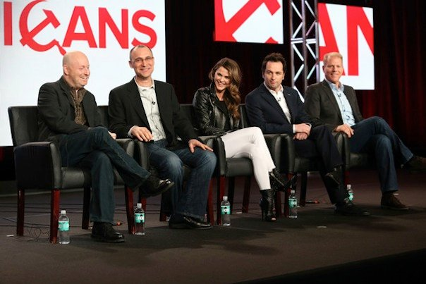Joe Weisberg, Joel Fields, Keri Russell, Matthew Rhys and Noah Emmerich
