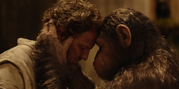 Caesar Prays For Peace In New Dawn Of The Planet Of The Apes TV Spot