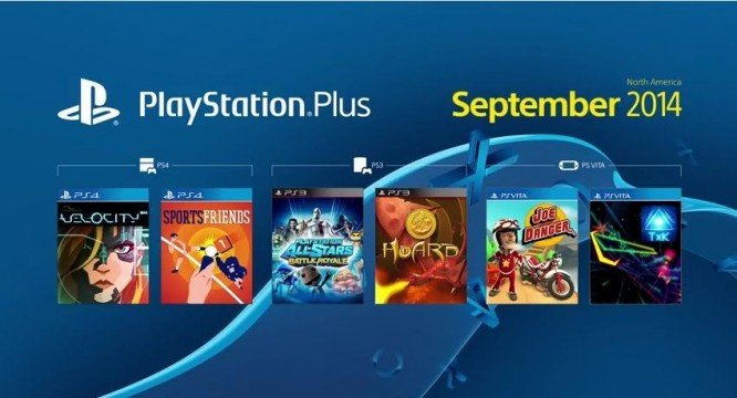 playstation plus september 2014