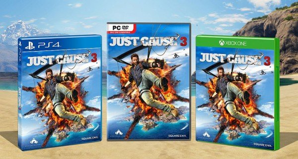Avalanche Unveils Just Cause 3 Box Art Ahead Of New Week's Gameplay Trailer