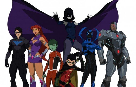 Justice-League-Teen-Titans