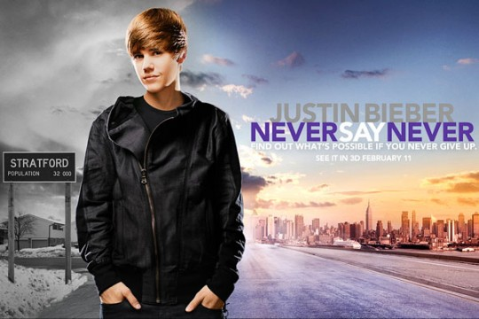 Justin Bieber: Never Say Never Blu-Ray Review