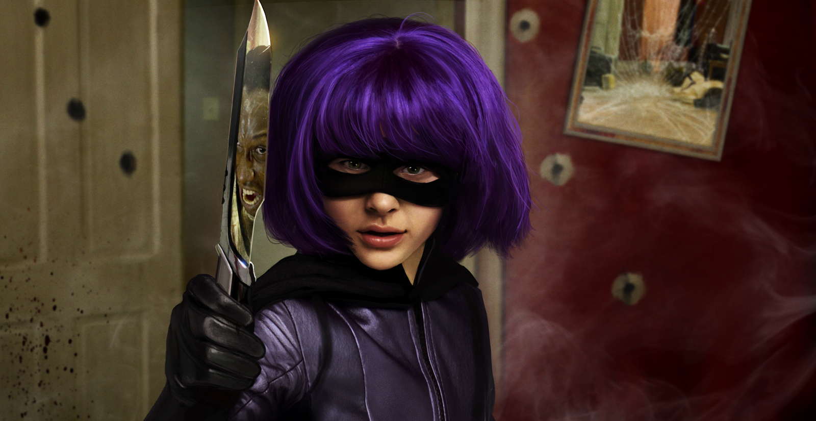 Image result for hit girl kick ass