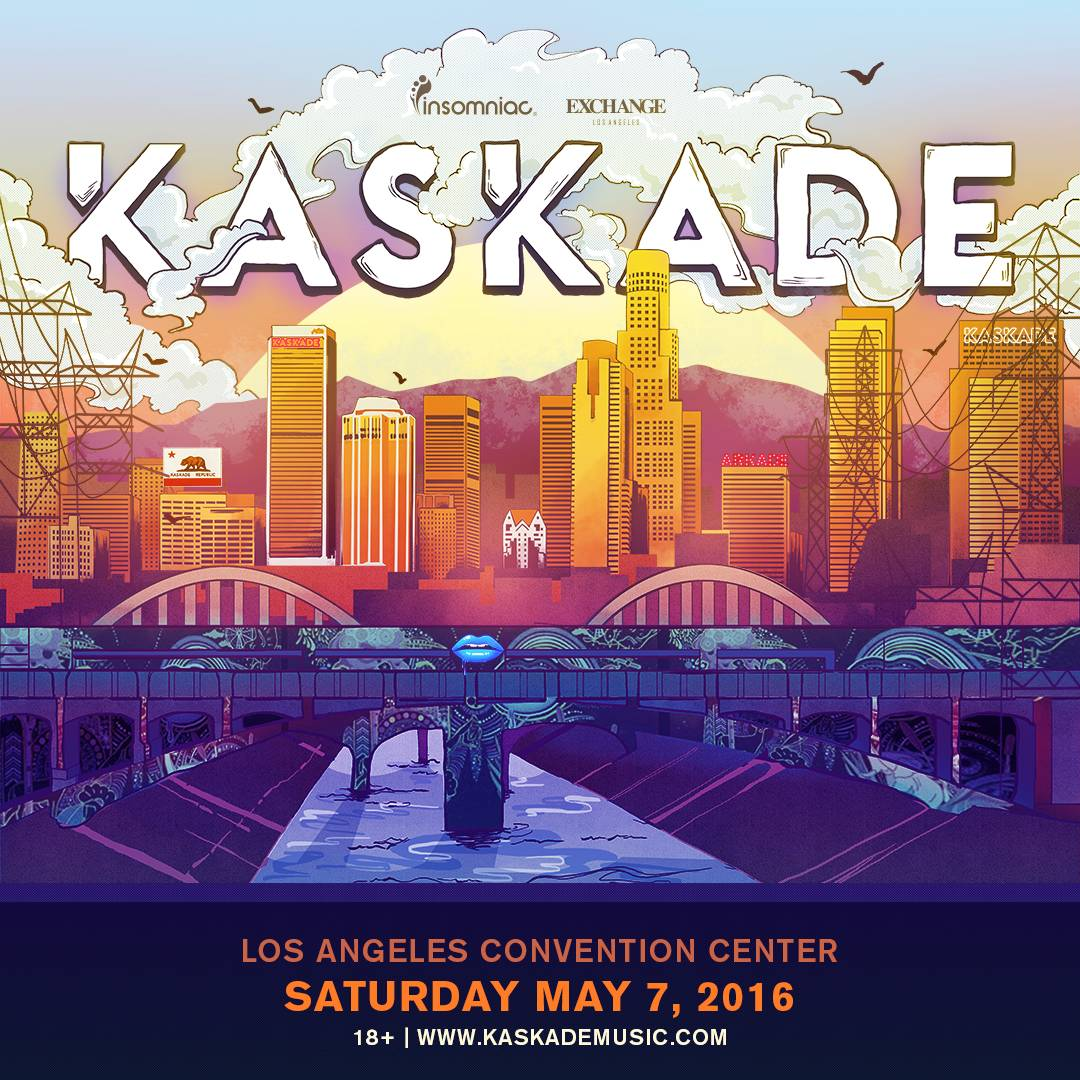Kaskade To Headline Los Angeles Convention Center's First Electronic Music Event