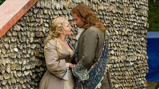 Kate Winslet and Matthias Schoenaerts in A Little Chaos