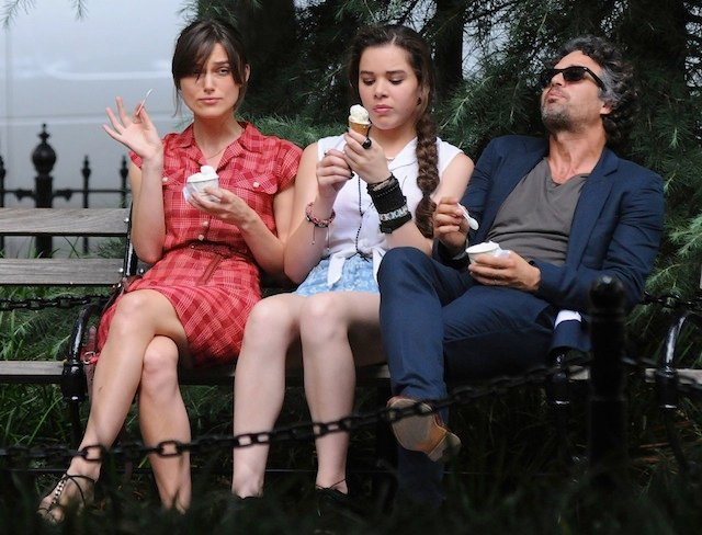 Keira Knightley Hailee Steinfeld and Mark Ruffalo in Can a Song Save Your Life Can A Song Save Your Life? Review [TIFF 2013]