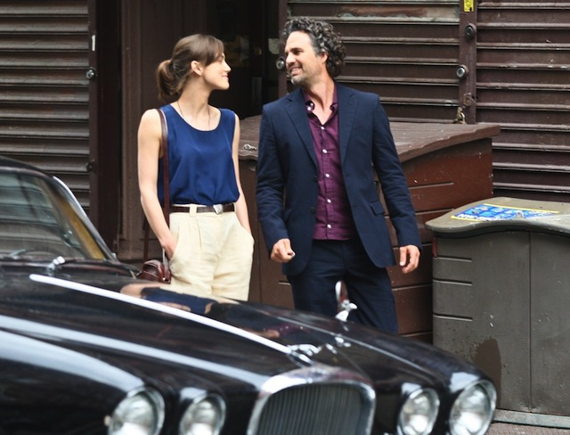 Keira Knightley and Mark Ruffalo in Can a Song Save Your Life?