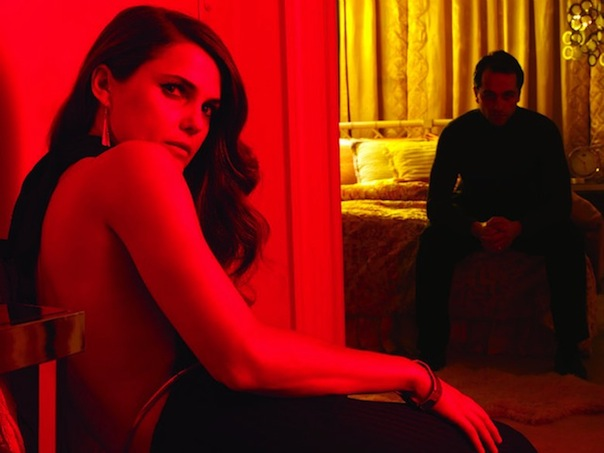 Keri Russell and Matthew Rhys in The Americans