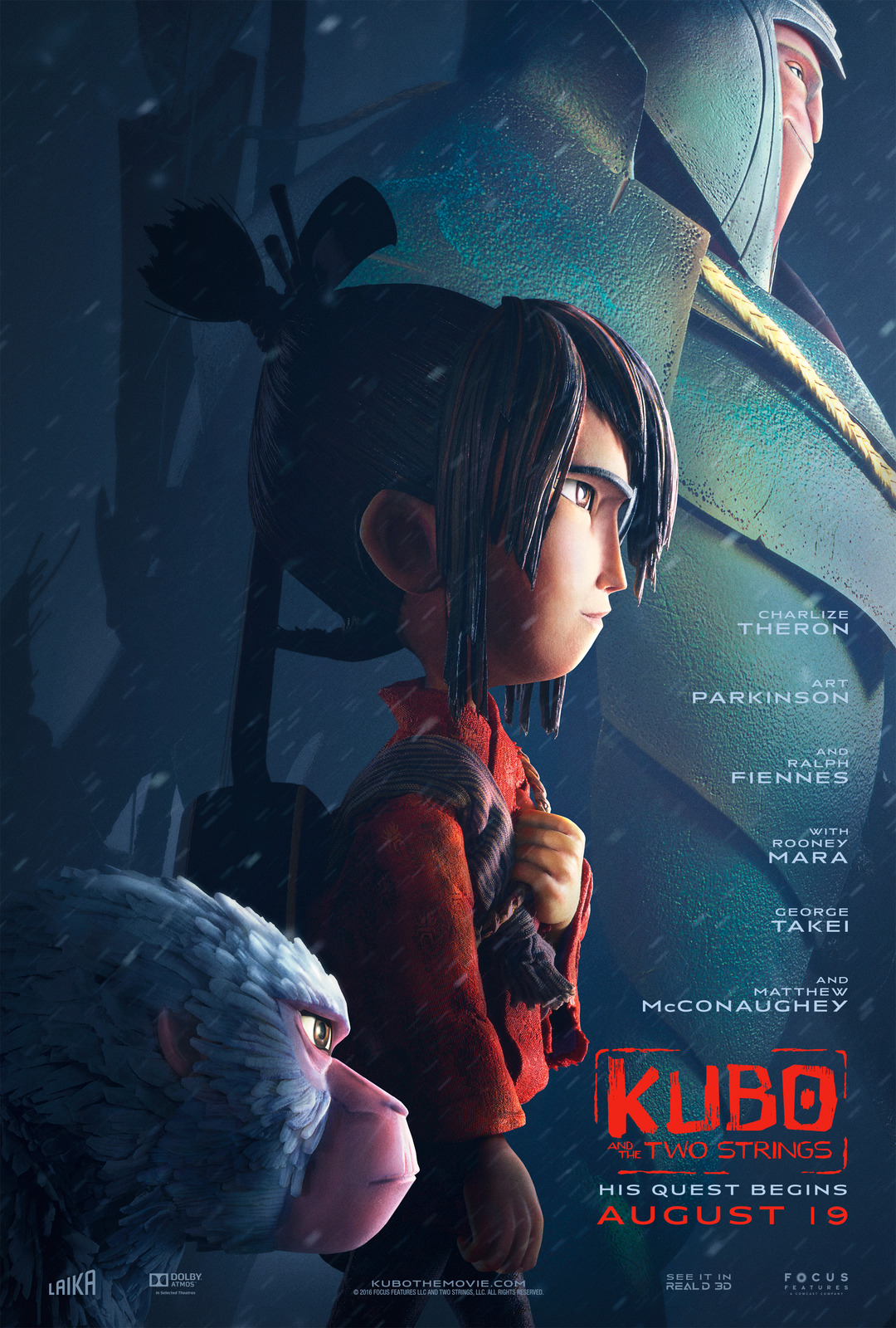 Kubo And The Two Strings Unveils Fourth And Final Trailer