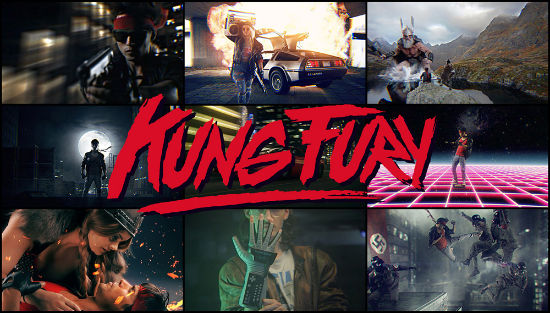 Kung Fury Kickstarter Demands The Attention Of 80s Action Junkies Everywhere