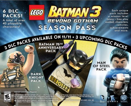 Season Pass For Lego Batman 3: Beyond Gotham Brings The Dark Knight And Man Of Steel To The Small Screen