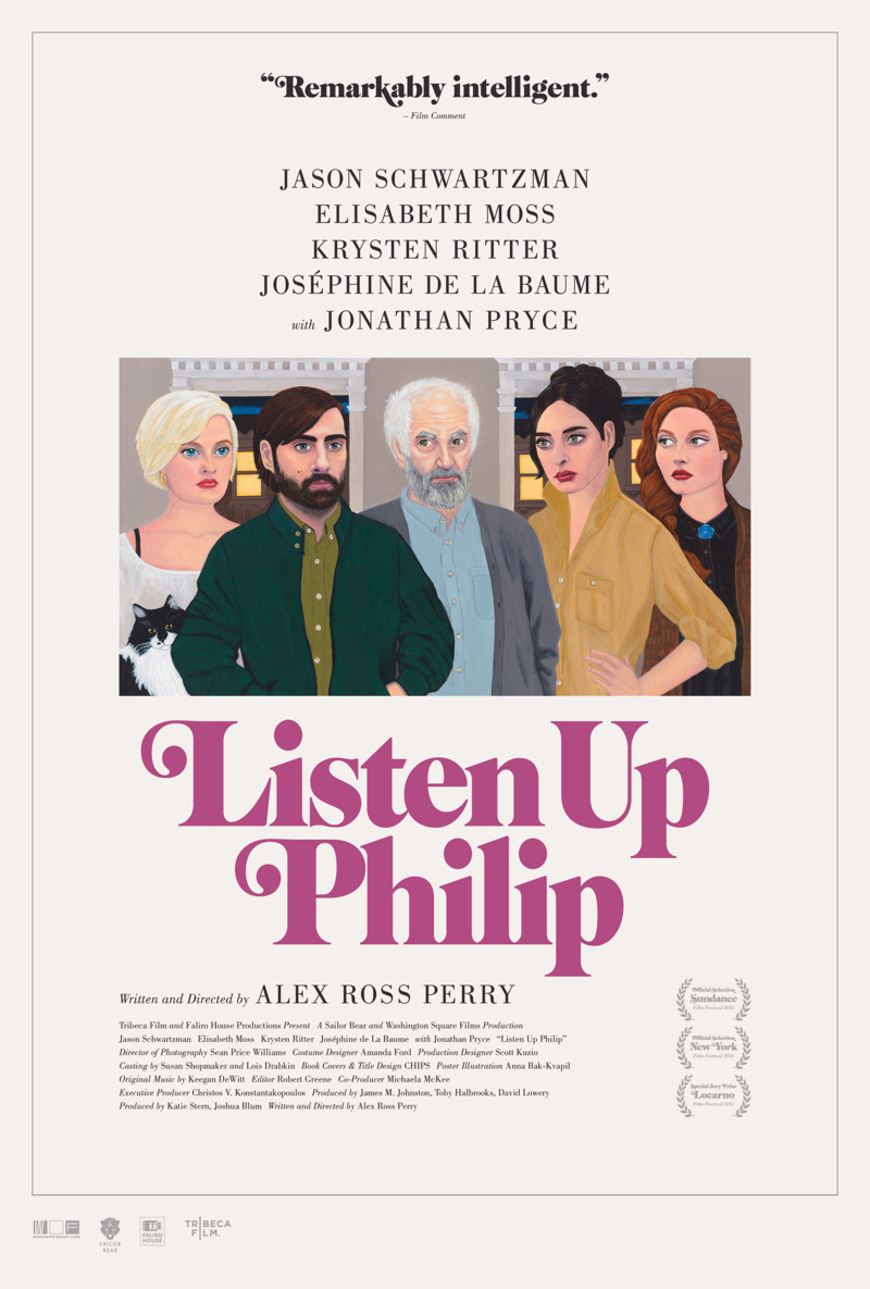 Listen Up Philip Review [NYFF 2014]