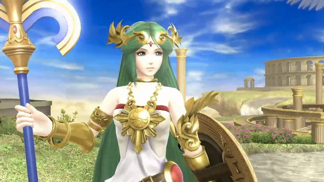 Lady Palutena Lights Up The Battlefield As Newest Addition To Super Smash Bros. Wii U And 3DS