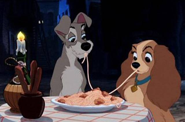 Lady and the Tramp 7 Appetizing Uses Of Food In Movies