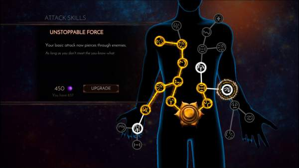 Leap of Fate skill tree