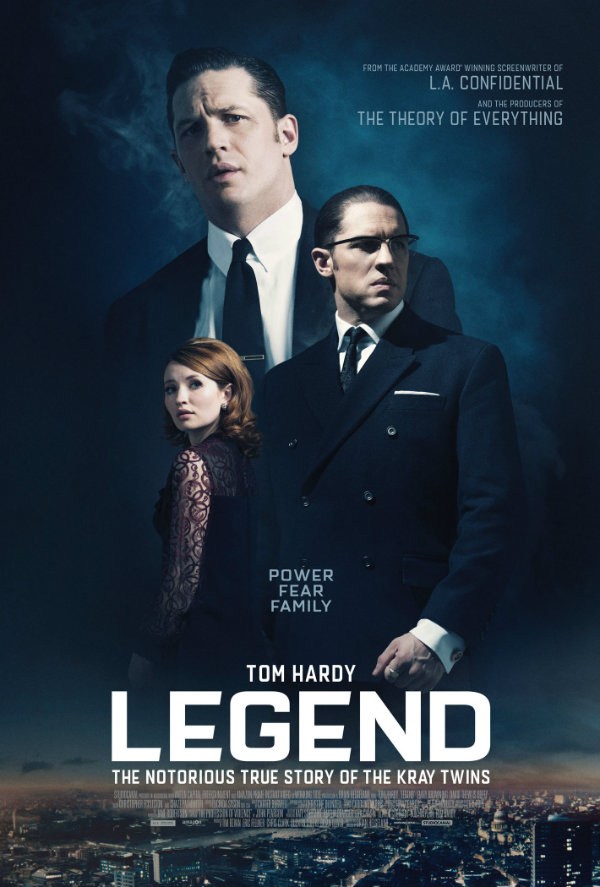 The Krays Rule Over London In Brooding New Poster For Tom Hardy's Crime Drama Legend