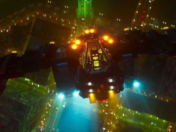 Will Arnett's Caped Crusader Takes Flight In First Look At The LEGO Batman Movie