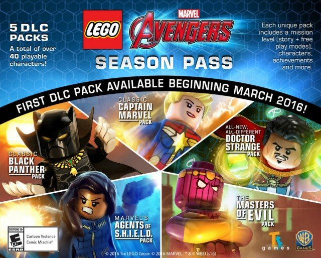 The First Lego Marvel's Avengers DLC Pack Is Arriving This Month