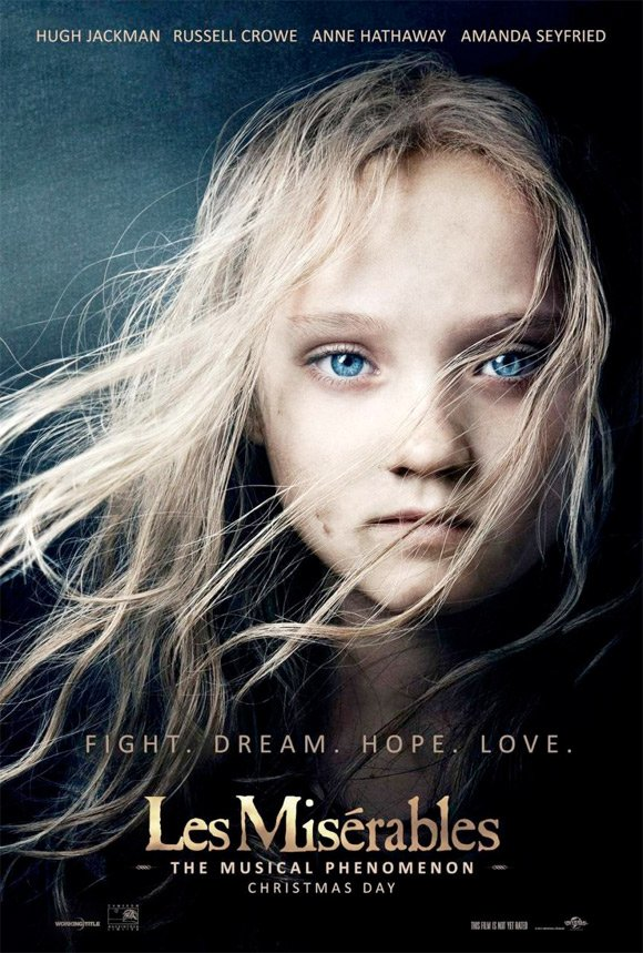Les Miserables New Poster For Tom Hoopers Les Miserables Features A Familiar Image
