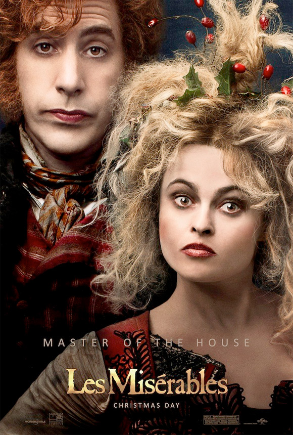 Two New Posters For Les Miserables Feature Two Couples
