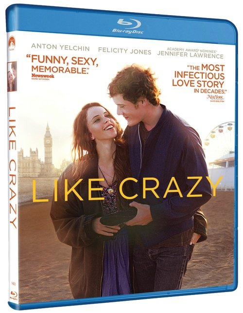 Romantic Drama Like Crazy Coming To Blu-Ray In March