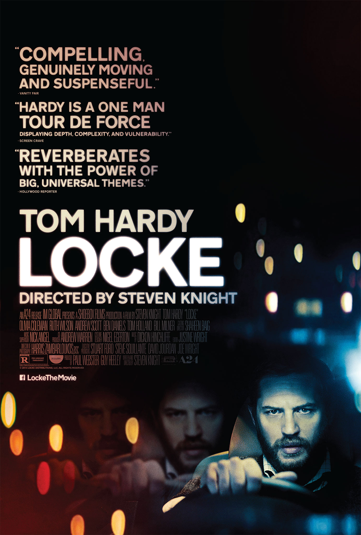 Take A Seat Next To Tom Hardy In US Trailer For Locke