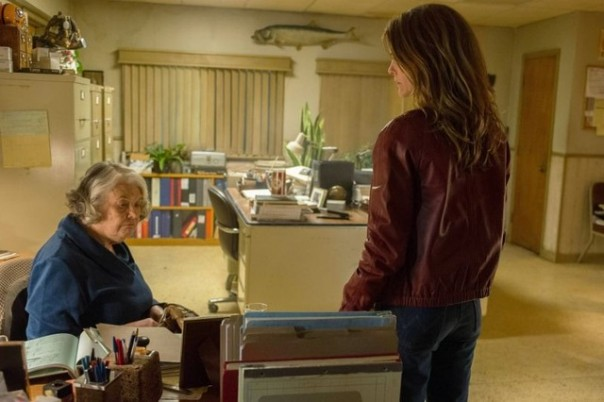 Lois Smith and Keri Russell in The Americans
