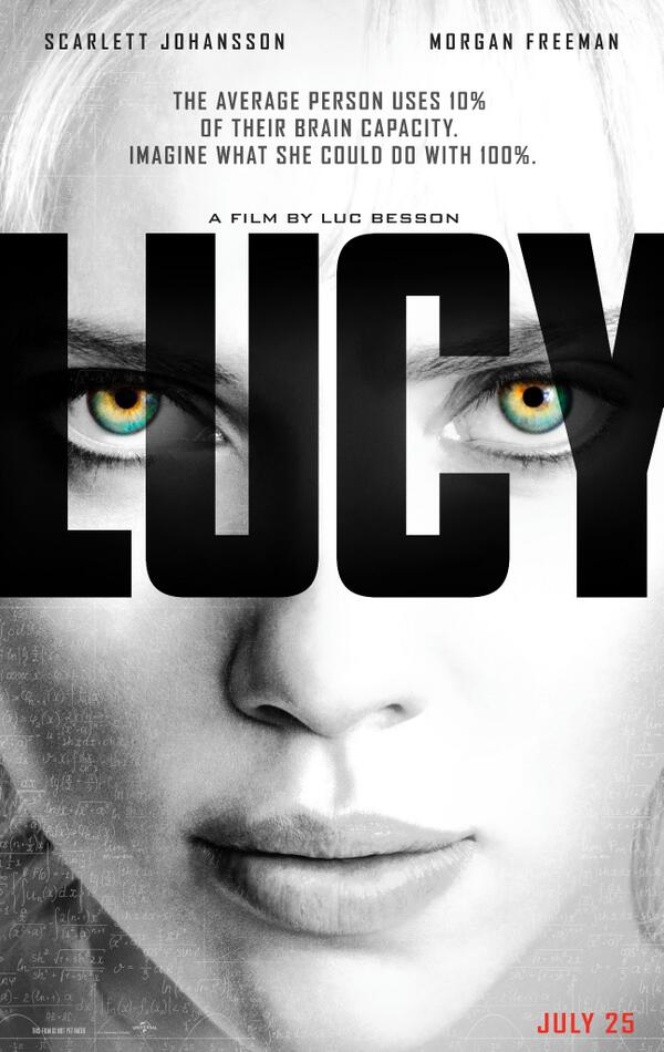 Scarlett Johannson Starrer Lucy Shifted From August To July, New Poster Released