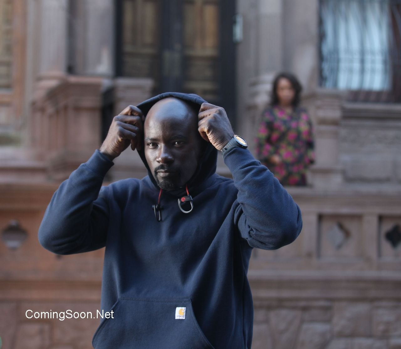 Luke Cage Meets Claire Temple In Fresh Batch Of Set Photos For Upcoming Marvel Series