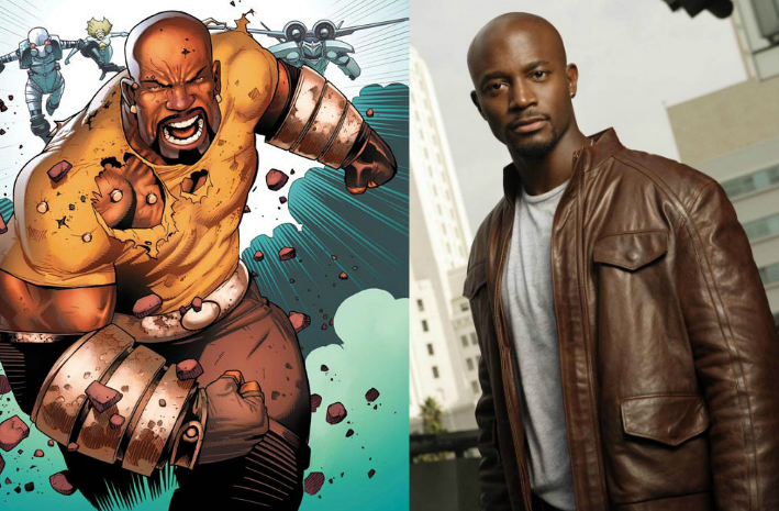 Taye Diggs Wants To Play Marvel's Luke Cage