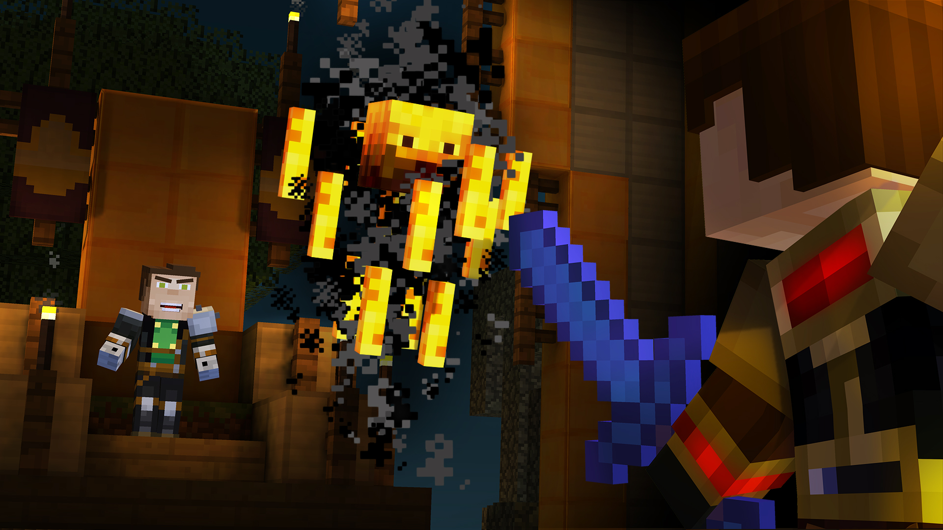 Order Up! Launch Trailer For Minecraft: Story Mode Episode 5 Has Landed