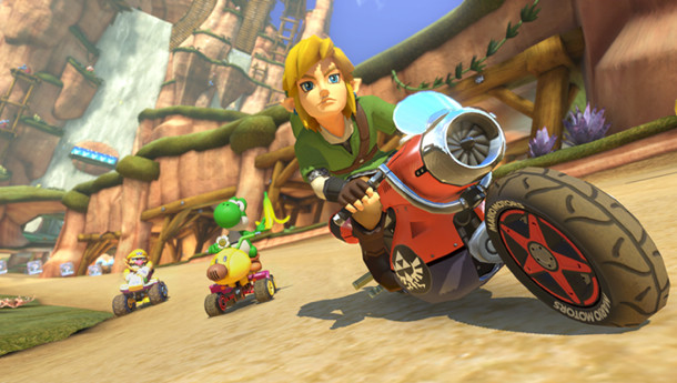 Upcoming Mario Kart 8 DLC To Add Link And Animal Crossing Villager