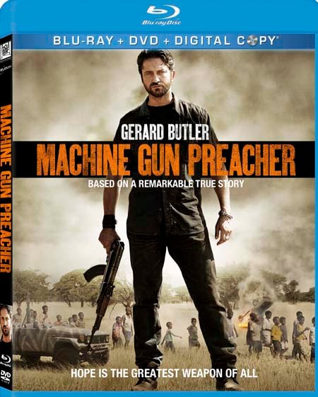 Machine Gun Preacher Blu-Ray Review