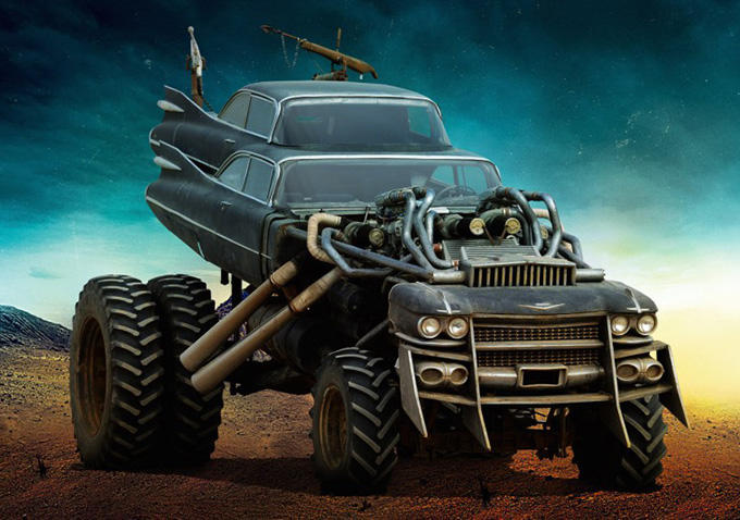 Hells Angels: Bevy Of Screenshots Showcase The Vehicles Behind The Mayhem In Mad Max: Fury Road