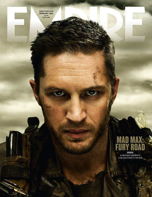 Tom Hardy Means Business In New Stills For Mad Max: Fury Road