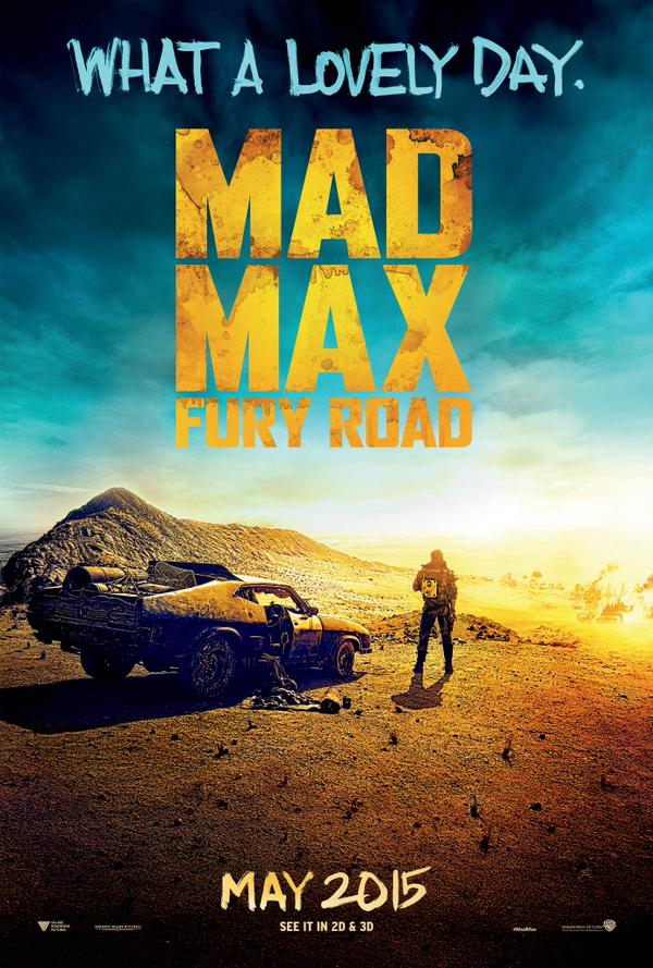 The Wasteland Beckons In New Poster For Tom Hardy's Mad Max: Fury Road
