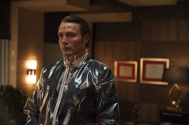 Mads Mikkelson in Hannibal