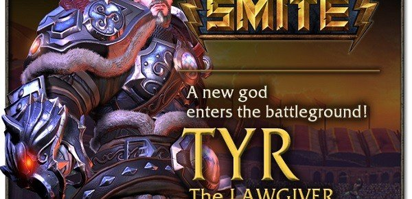 SMITE Introduces Tyr The Lawgiver