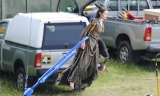 Behind The Scenes Pictures From Maleficent Reveal A Bit Of The Magic