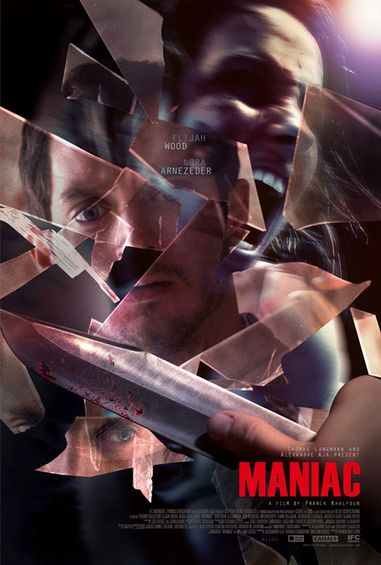 US Poster And Red Band Trailer For Maniac Revealed