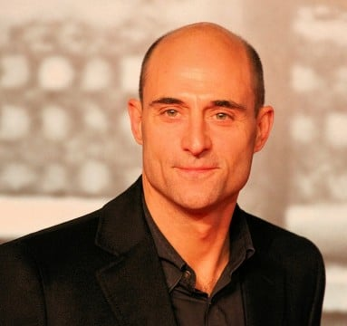Mark Strong 383x360 James McAvoy Welcomes Mark Strong To The Punch