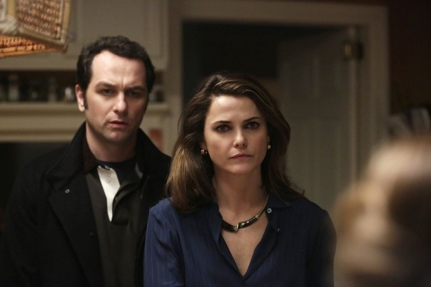 Matthew Rhys, Keri Russell and Holly Taylor in The Americans
