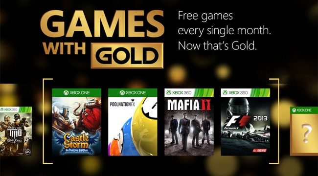 Xbox Games With Gold To Add Mafia II, CastleStorm And More For May