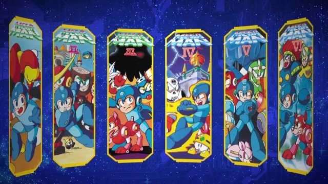 Mega Man Legacy Collection Now Available For Nintendo 3DS