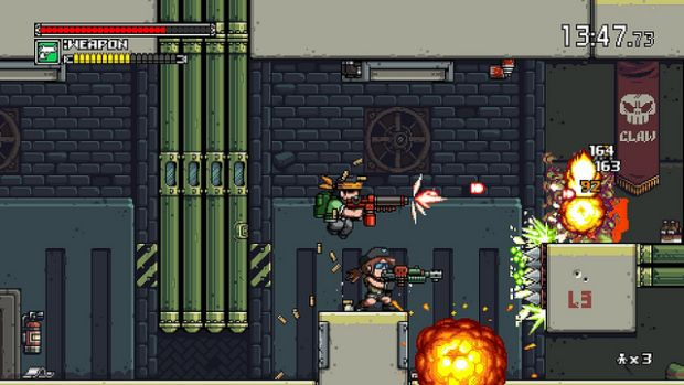 Mercenary Kings Shoots Its Way To PS4 On April 1st