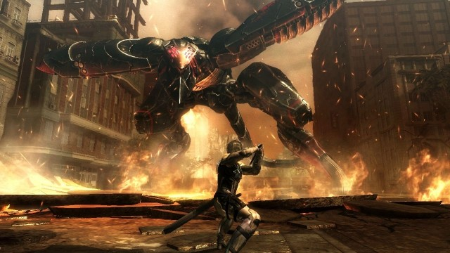 Metal Gear Rising Slicing Through Retail In February