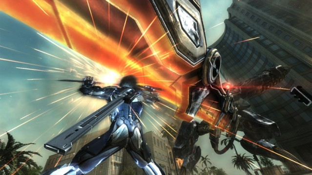 Metal Gear Rising's Story Chronologically Shifted