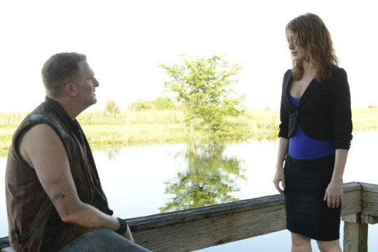 Michael Rapaport and Alicia Witt in Justified A Murder of Crowes 539x360 Conference Call Interview With Michael Rapaport On Justified